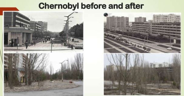 chernobyl diaster before and after